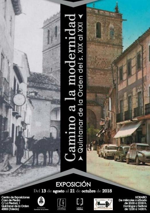 """Exposición """"Camino a la modernidad"""" (Casa de Piedra en Quintanar de la Orden,13 agosto – 21 octubre 2018)"""